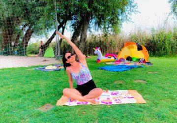 strand jóga
